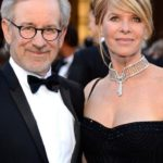 Spielberg with his wife Kate