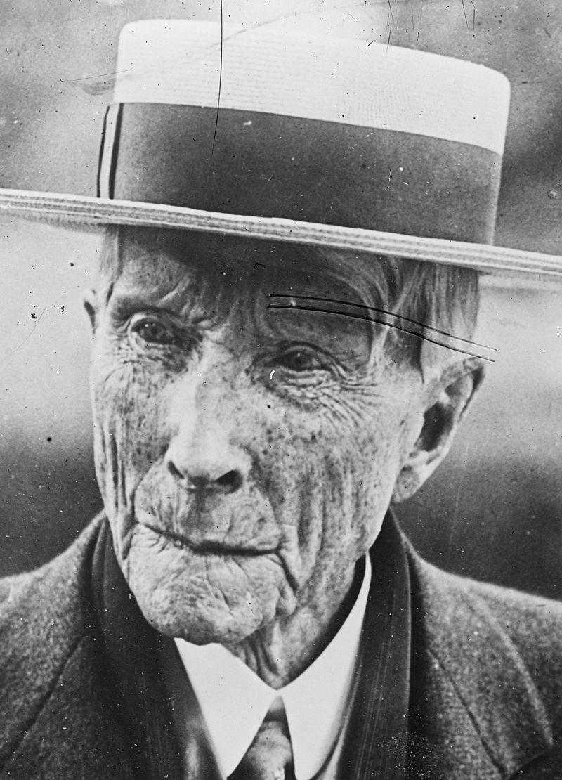 John D. Rockefeller 177th birthday timeline