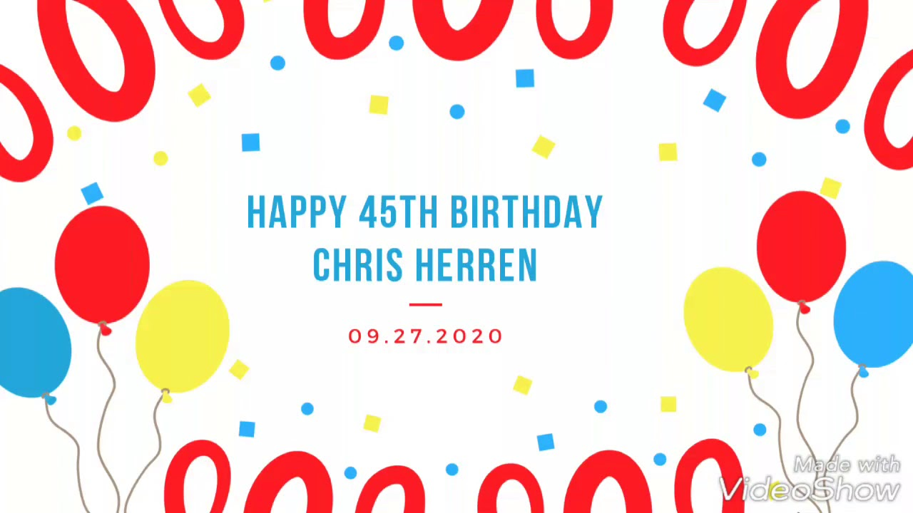Chris Herren 45th birthday