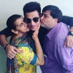 Prince Narula with his parents