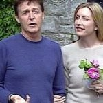 Beatrice withe her father Paul McCartney