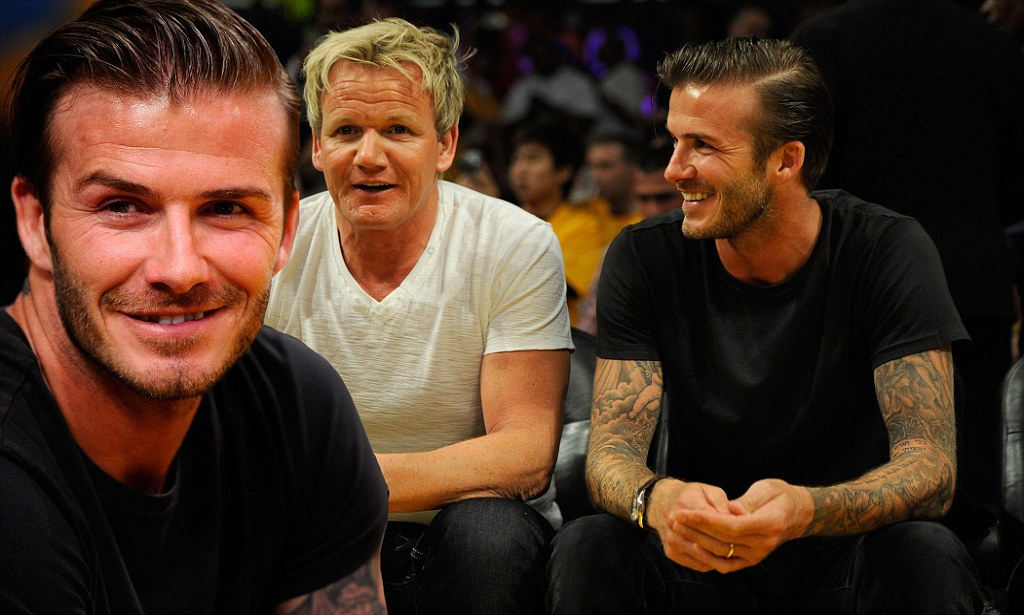 David Beckham 36th birthday timeline