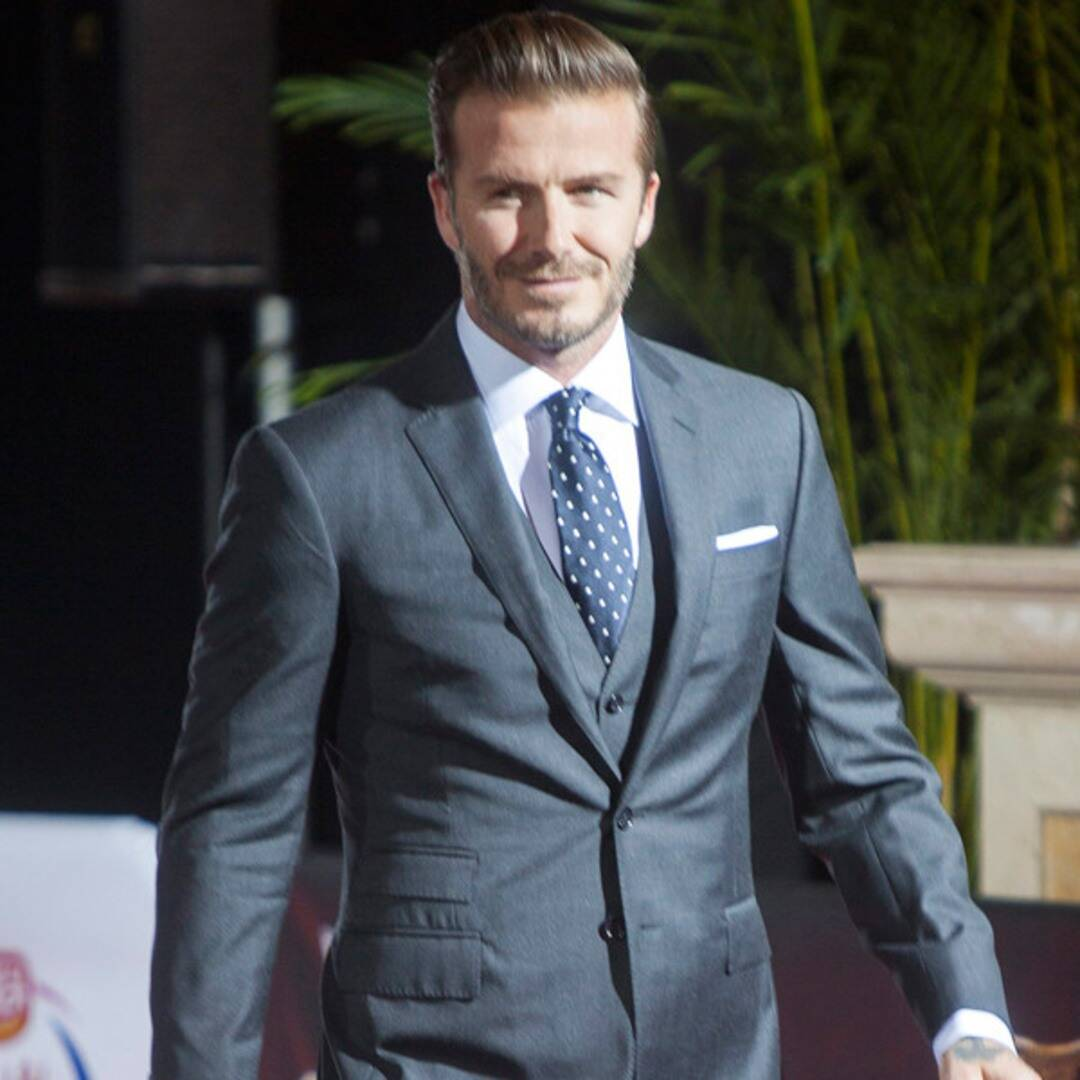 David Beckham 39th birthday timeline