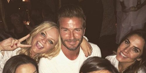 David Beckham 40th birthday timeline