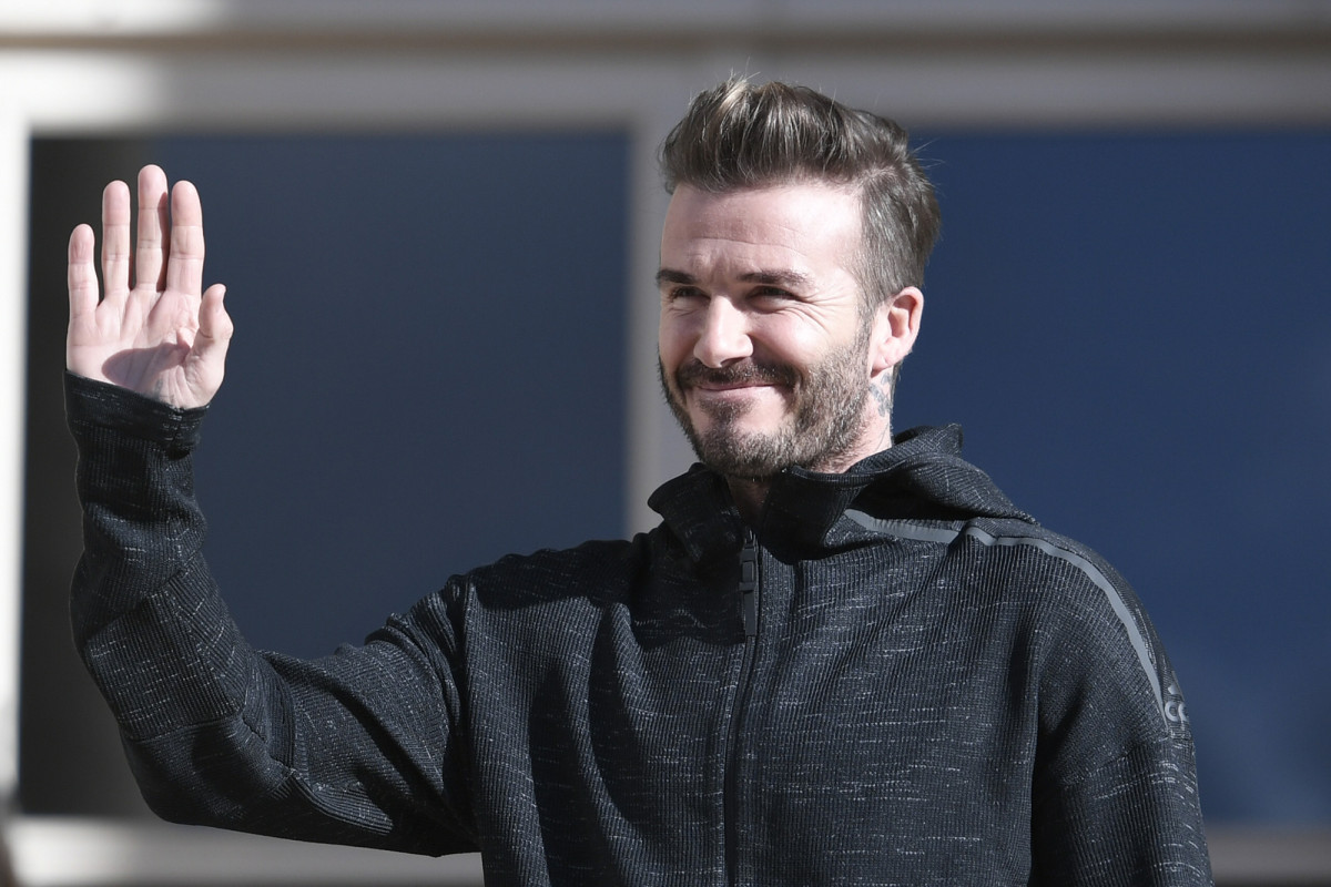 David Beckham 43rd birthday timeline