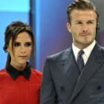 David Beckham with his wife Victoria Beckham