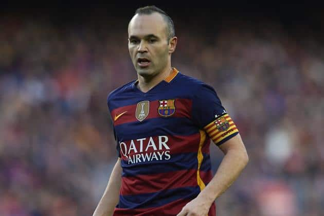 Andres Iniesta 32nd birthday timeline