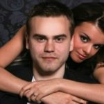 Igor Akinfeev with his ex-girlfriend Valeria Yakunchikova