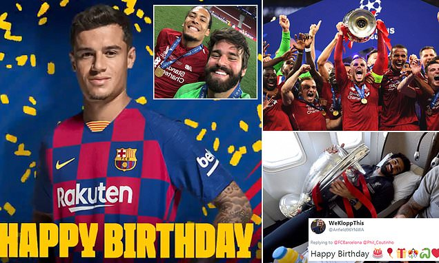 Philippe Coutinho 18th birthday timeline
