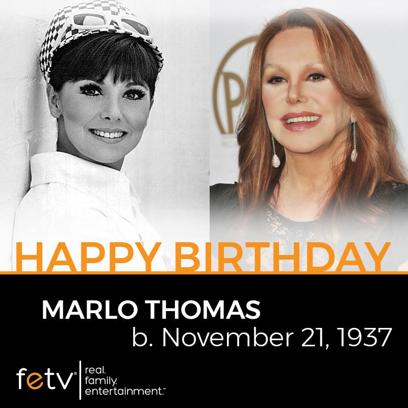 Marlo Thomas 81st birthday timeline