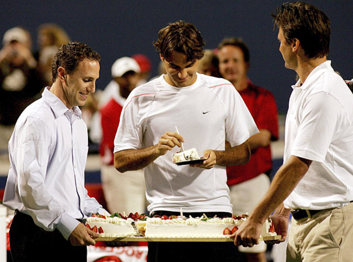 Roger Federer 32nd birthday timeline