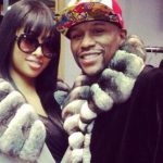 Floyd Mayweather with Princess Love