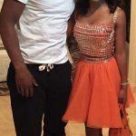 Floyd with his daughter Iyanna Mayweather