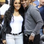 Mayweather and Shantel Jackson