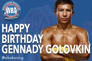 Gennady Golovkin 34th birthday timeline