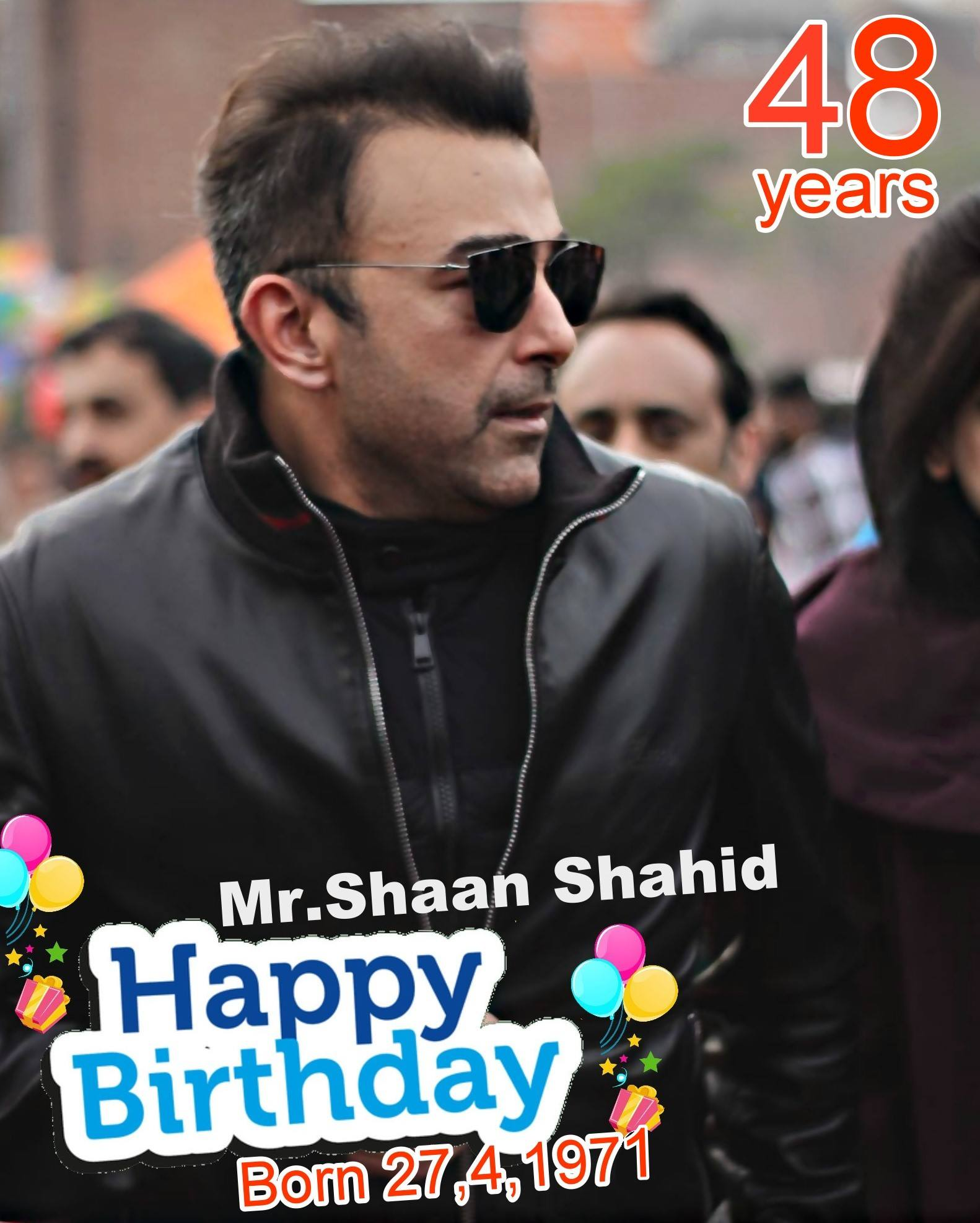 Shaan 48th birthday