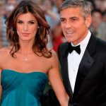 George Clooney with his Ex-girlfriend Elisabetta Canalis