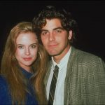 George Clooney with his Ex-girlfriend Kelly Preston
