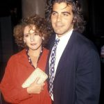 George Clooney with his Ex-girlfriend Talia Balsam
