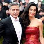George Clooney with his Ex-wife Amal Clooney