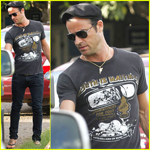Justin Theroux 40th birthday timeline