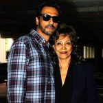 Arjun Rampal with his mother