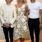 Pamela Anderson with her sons