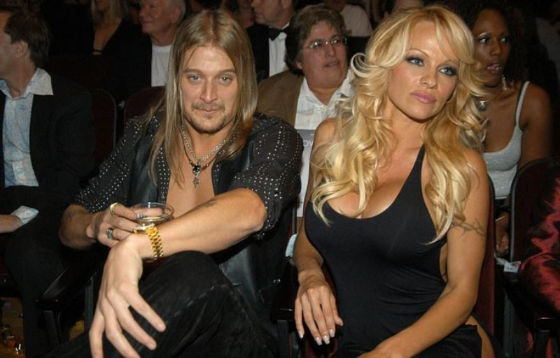 Pamela Anderson With Kid Rock