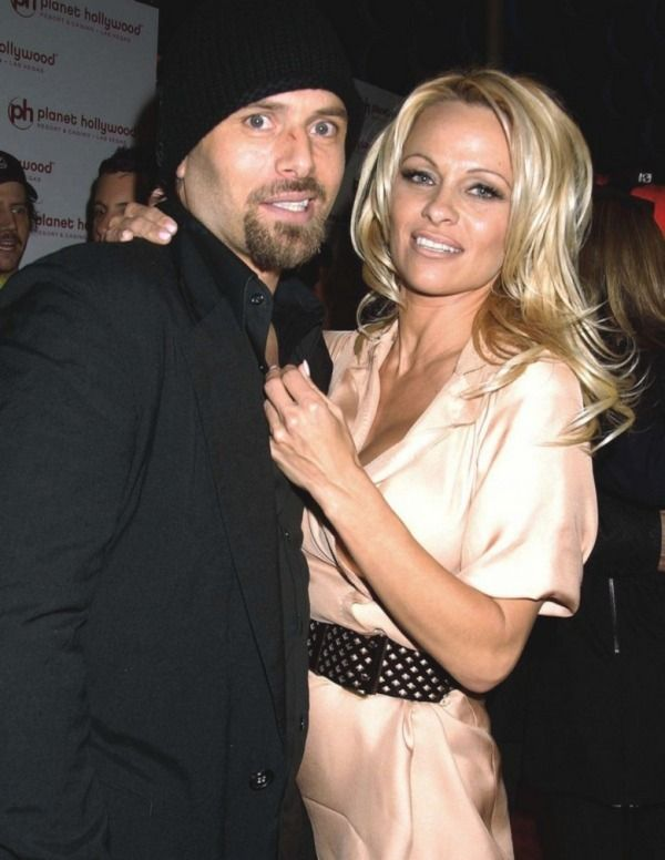 Pamela Anderson With Rick Salomon