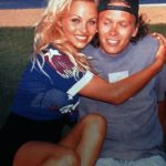 Pamela Anderson with her brother