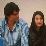 Mohammad Irfan with his wife