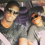 Jason Holder with his brother Codeman